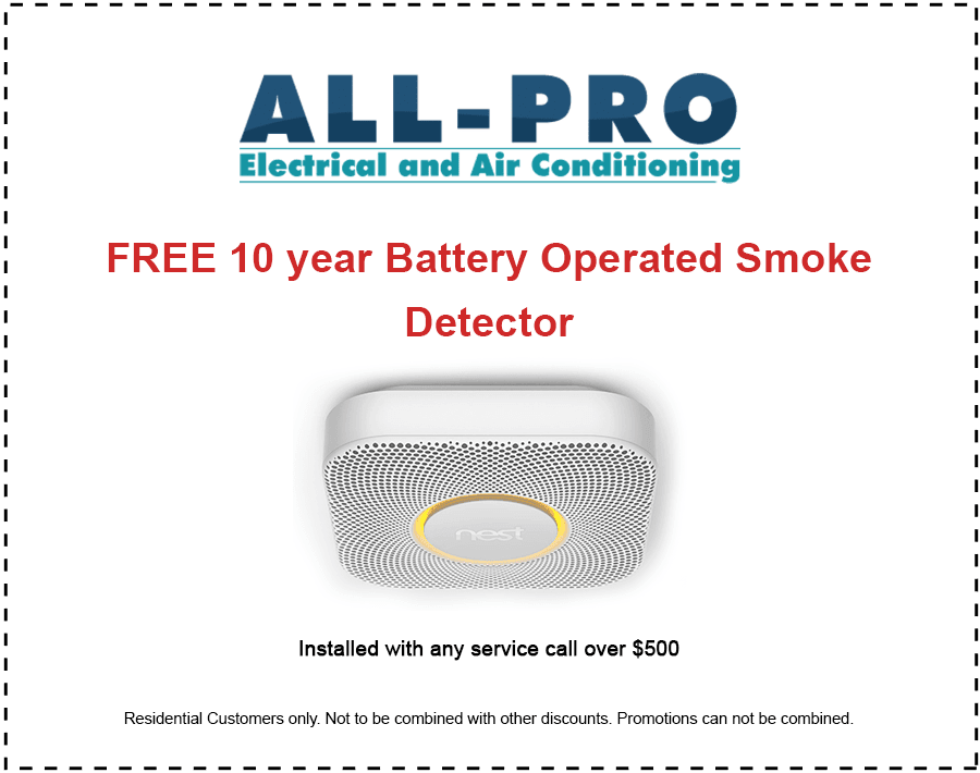 Air Conditioning Boca Raton- All Pro Free Smoke Detector
