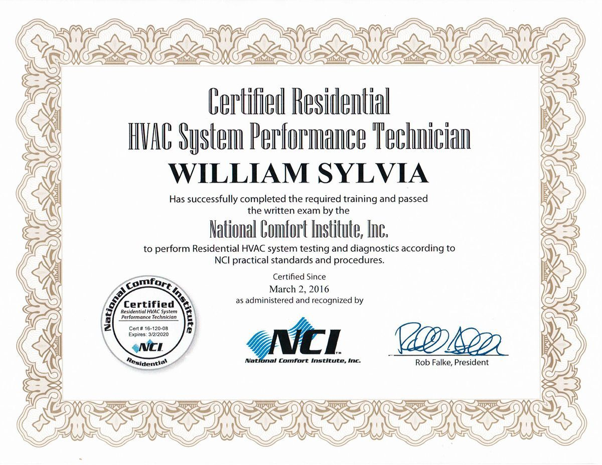 air conditioning certification service pro cert emergency call installation please