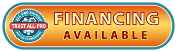 New Air Conditioning System Financing Available