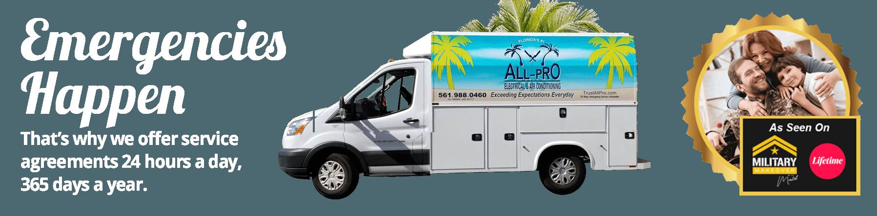 All-Pro Electrical & Air Conditioning Boca Raton Florida Ac Repair